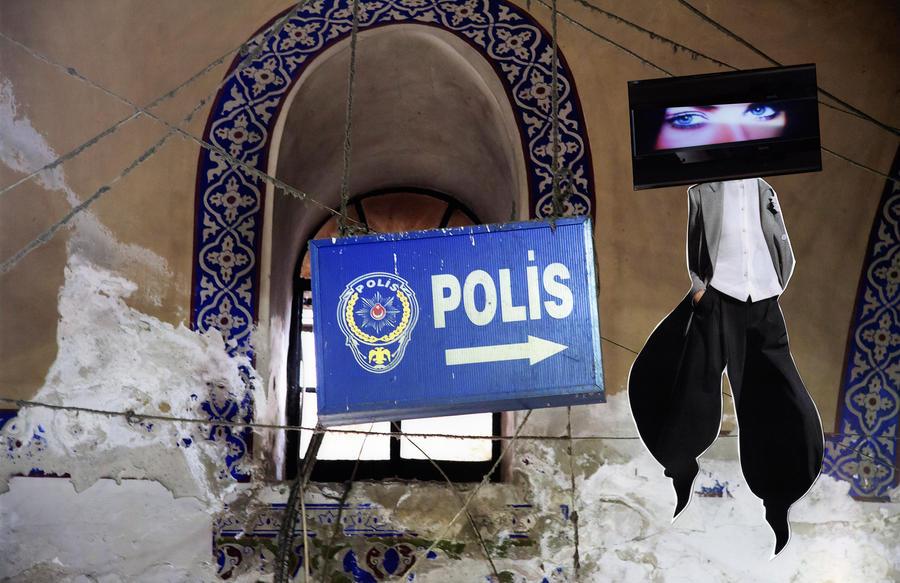 Polis, 2020, 39' x 53'