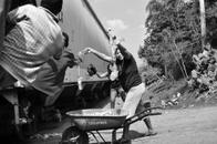Rosa Handing Out Water, La Patrona, 2012