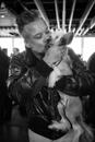 Chinese Crested Kiss, New York, 2014