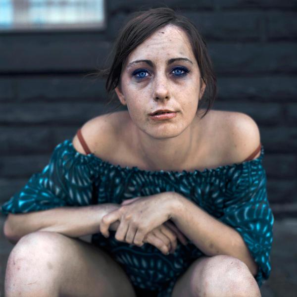 Alexandra, crack addict, Ottawa, 2010