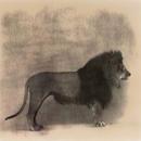Lion #3, 30x30