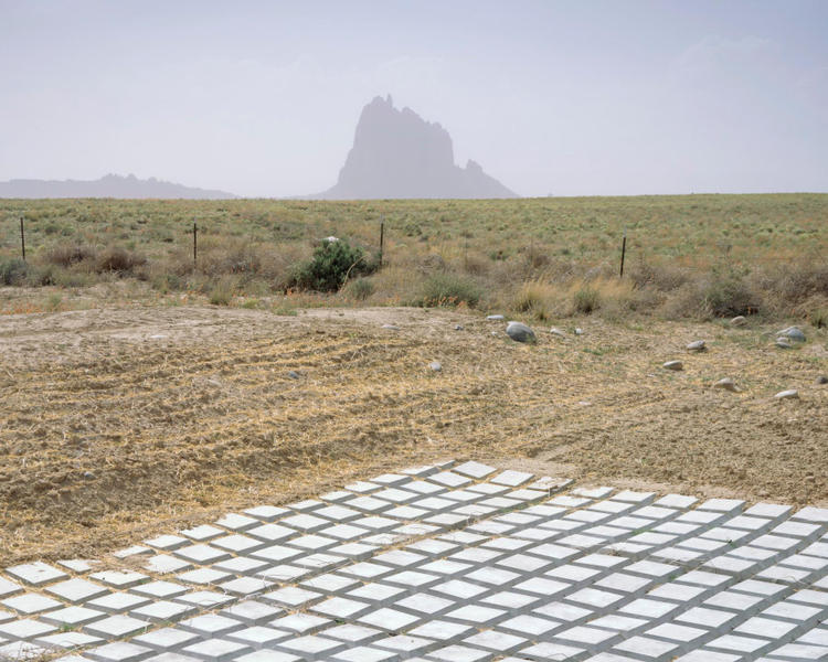 Shiprock with Catch-Basin, New Mexcio: 2011