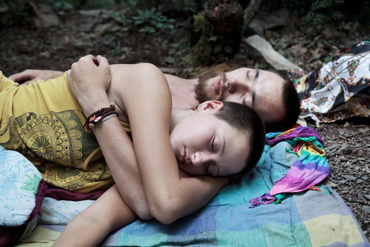 Lama and Nastya at Utrish, from Alternative Russia