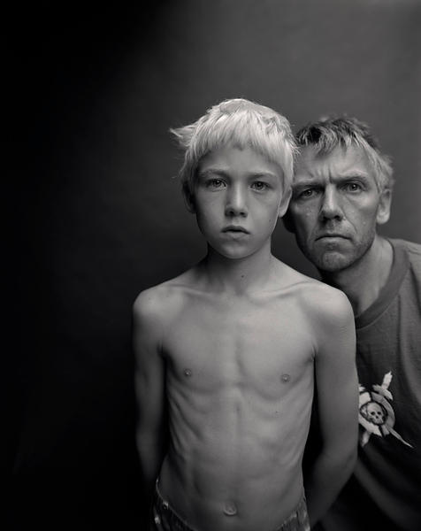Jens Linus and me, 2006 - from 'Family Photographs