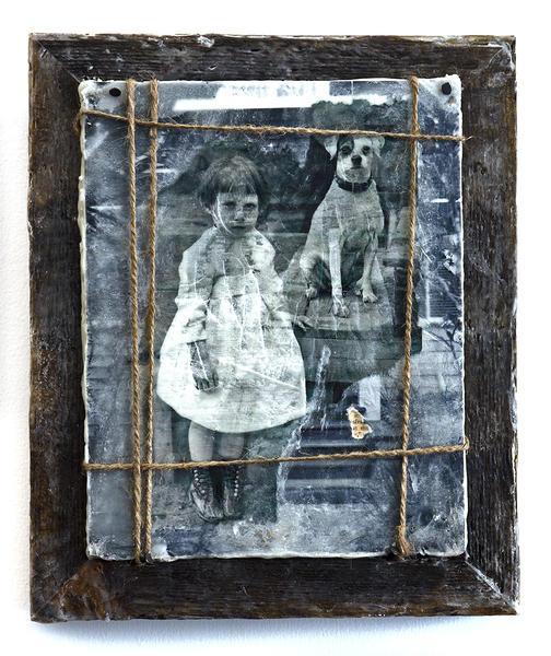Ghost Girl 2013 12.5' x 10.5'