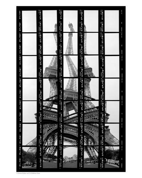 02#10, Paris, Tour Eiffel, 1997, BW-Print, 17,5 x