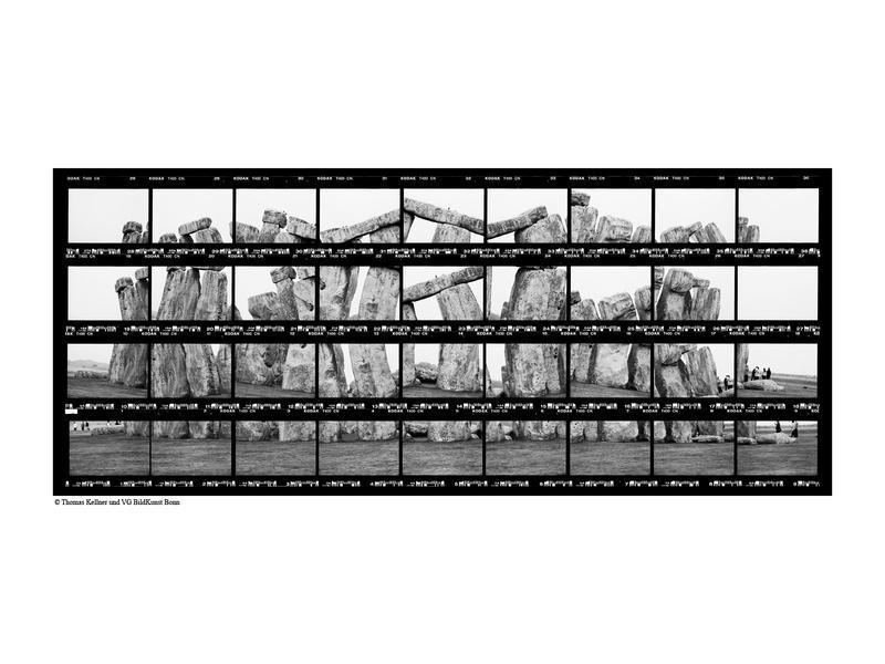 33#35, England, Stonhenge, 2002, BW-Print, 34,5 x