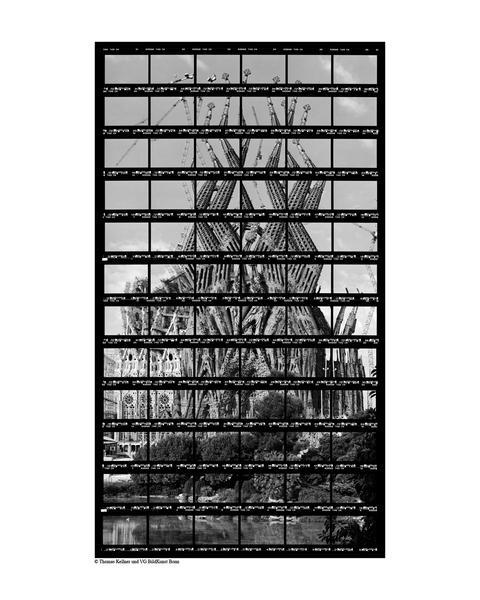 37#13, Barcelona, La Sagrada Familia, 2003, BW-Pri