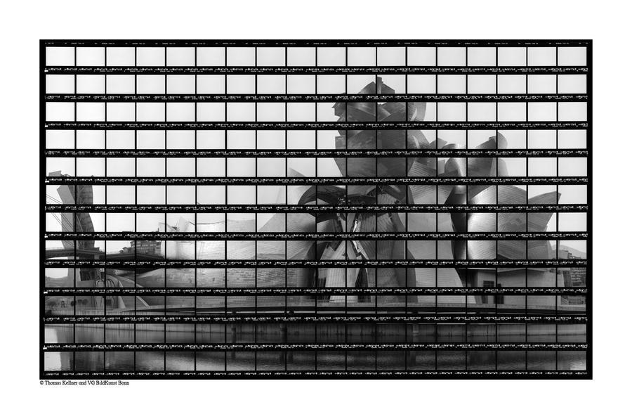 38#10, Guggenheim Bilbao, 2003, BW-Print, 68,2 x 4
