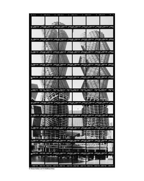 39#08, Chicago, Marina Towers, 2003, BW-Print, 22,