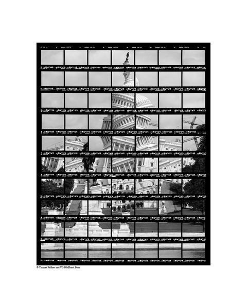 41#02, Washington, Capitol, 2004, BW-Print, 26,8 x