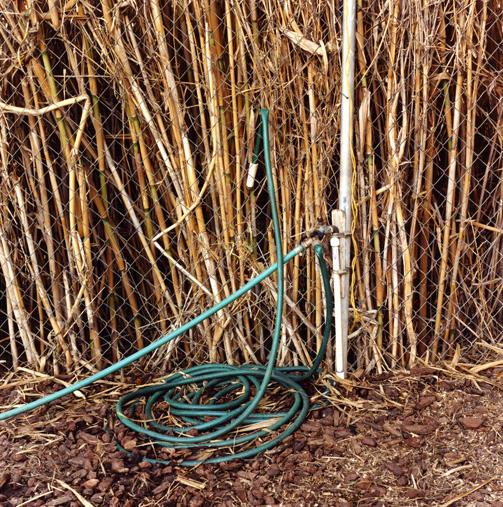 Garden hose, Costa Mesa, CA, From 'Threefold Sun'