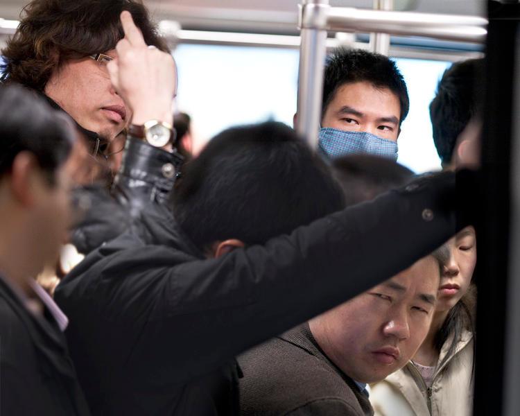 Shanghai  Megacity  Subway  China