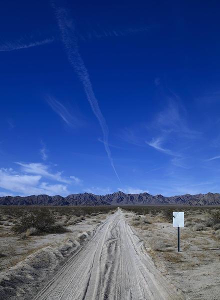 Dirt Road, Parker, AZ, 2010