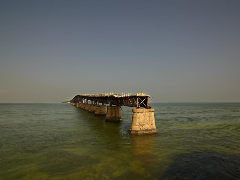 Railroad Bridge, Marathon, FL, 2012