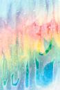 Untitled (Melting Rainbows 043), 2010