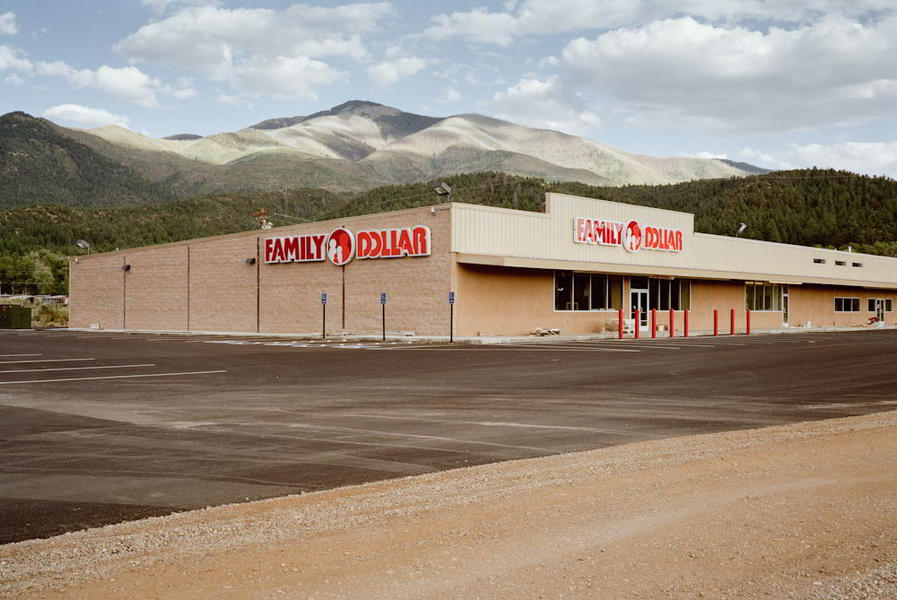 Family Dollar, Taos, New Mexico, 2010