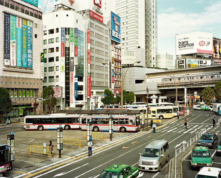 Morning in Shibuya, from Japan 2004-2011