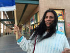 Protestor wants more government protection, Eilat