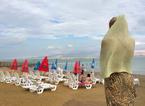 Russian Tourist, Dead Sea, Israel