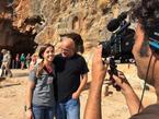Christian Pilgrim, Banias, Golan Heights