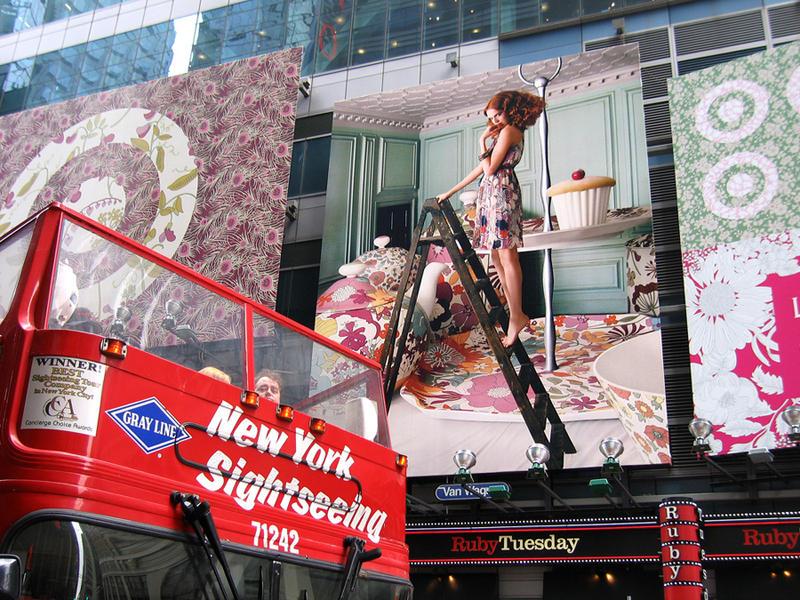 Target, NYC 2010