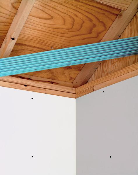 plank (turquoise),  2011