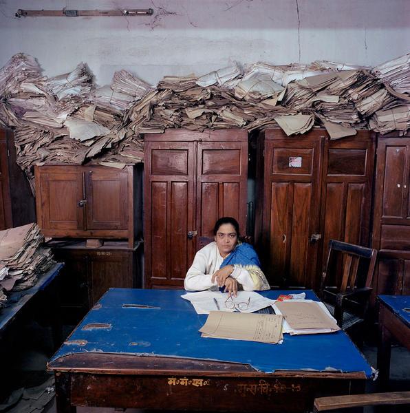 From 'Bureaucratics': assistent clerk in India