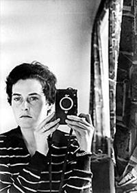 Self Portrait, Jerusalem, 1958.