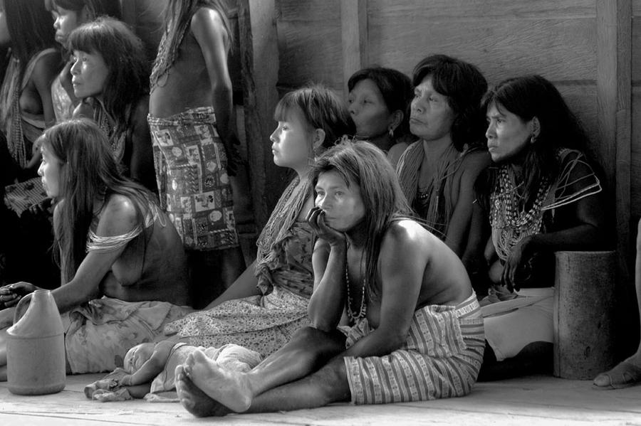 Embera Women, Coming-of-age Ceremony