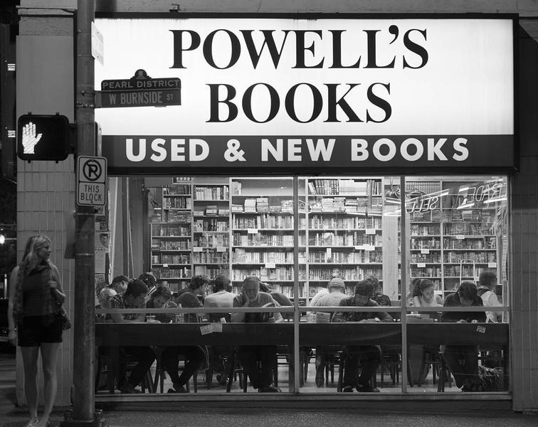 Night Reading, Powell's Books, Portland, Oregon