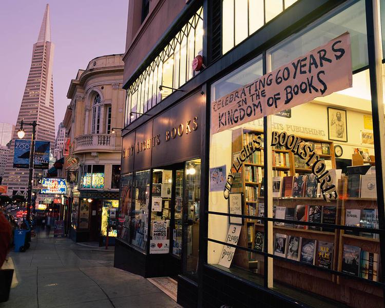 Celebrating 60, City Lights, San Francisco