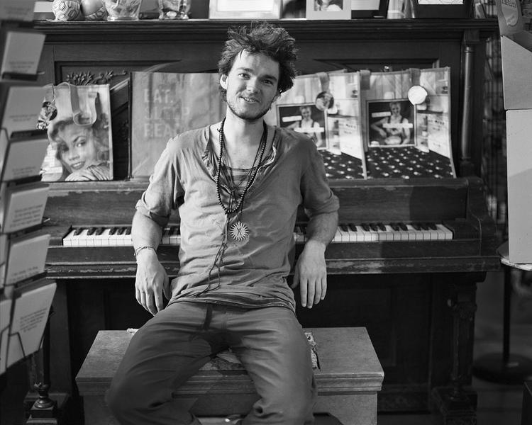 Noah at the Piano, Iconoclast Books, Ketchum, ID