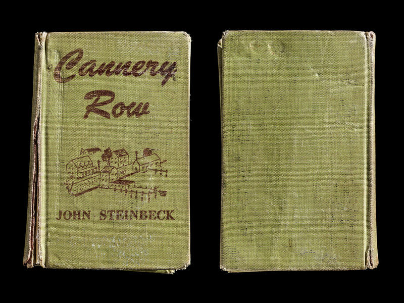Cannery Row, Covers Front & Back