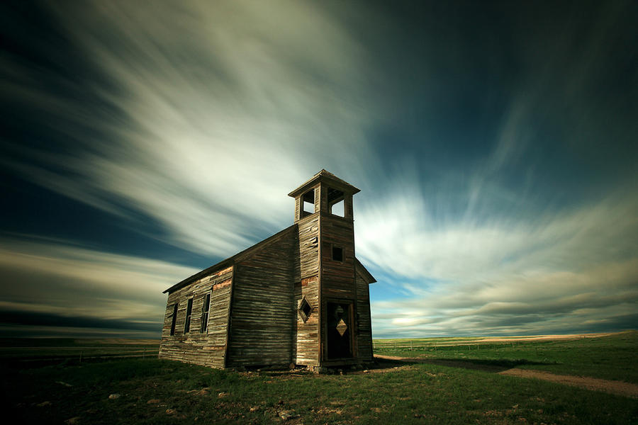 Old Cottonwood Church--Havre, MT