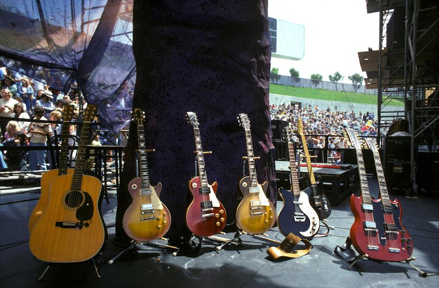 Jimmy Page's Guitars, Oakland, 1977
