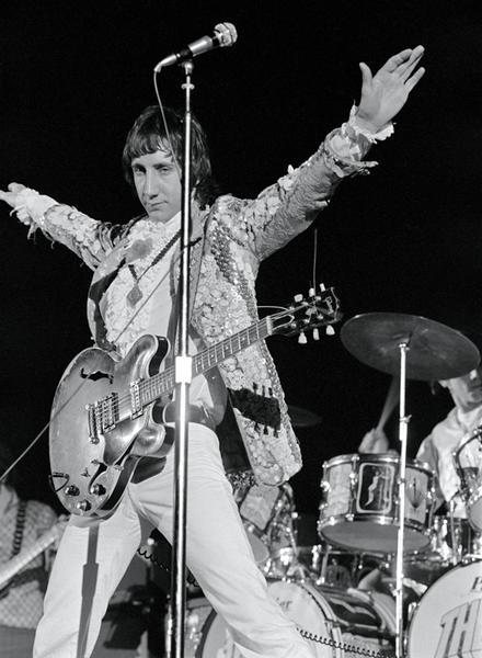 Pete Townshend, The Who, San Francisco, 1968