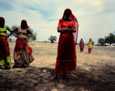 Women; Thar Desert, Rajasthan, India 2011