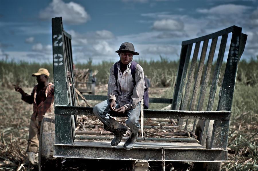 Dominican Repuplic sugar cane worker.