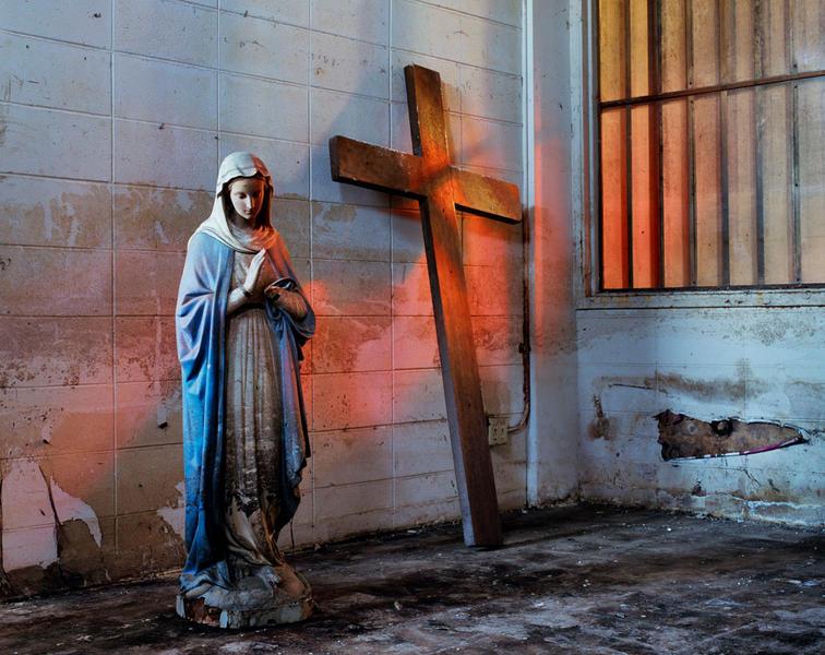 Mary with Cross, Arabi, LA  2005