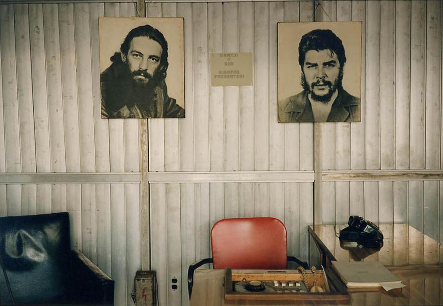 Office With Che and Camilo-Havana, Cuba