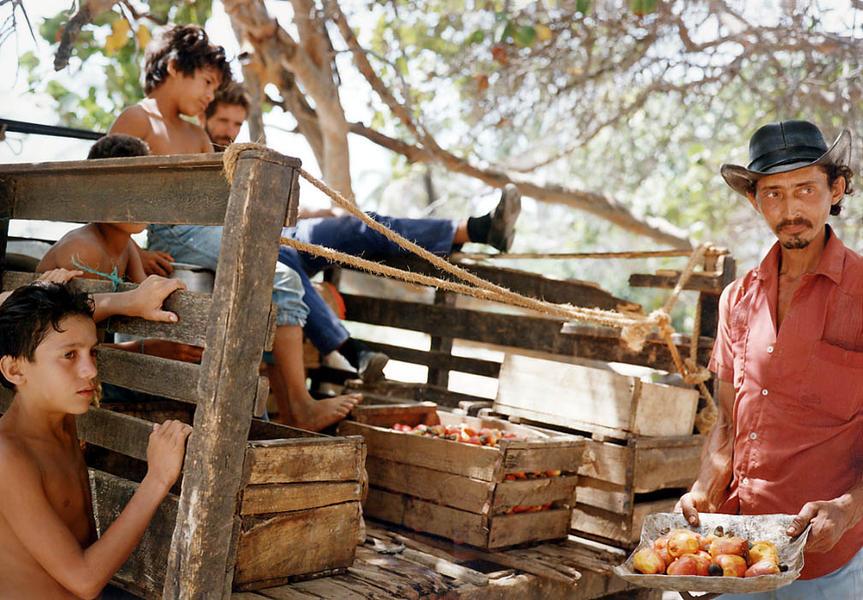 Man Selling Maranon-Point Maisi, Cuba