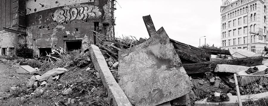 Demolition Site, Weißeritzstraße, Dresden