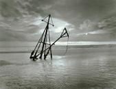 Buried Shrimp Boat