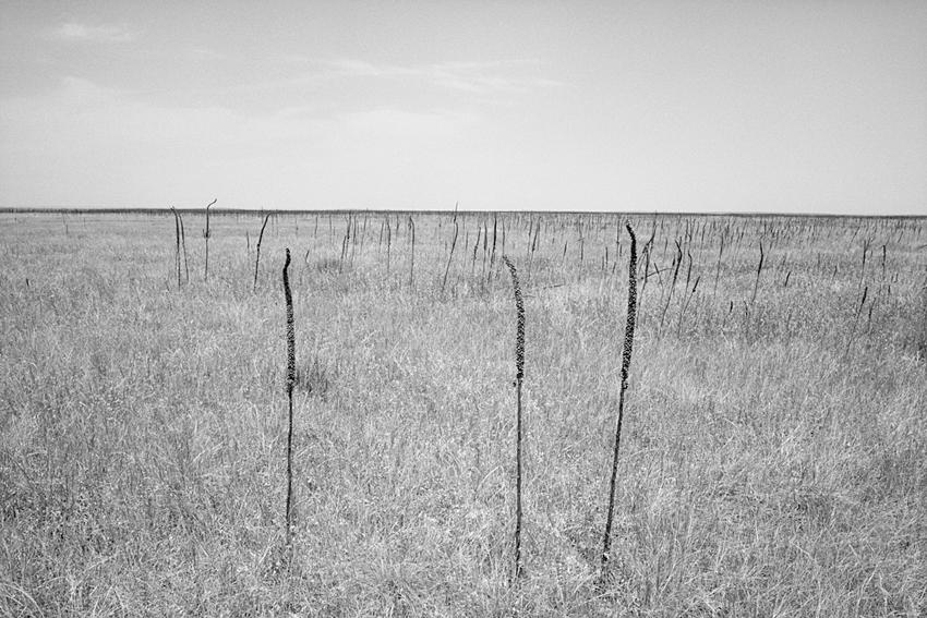 Ghost Dance Site, Badlands, South Dakota, 1989