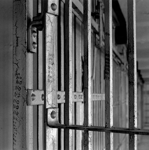 """No No No,"" Cell # 34, A-Block, Alcatraz"