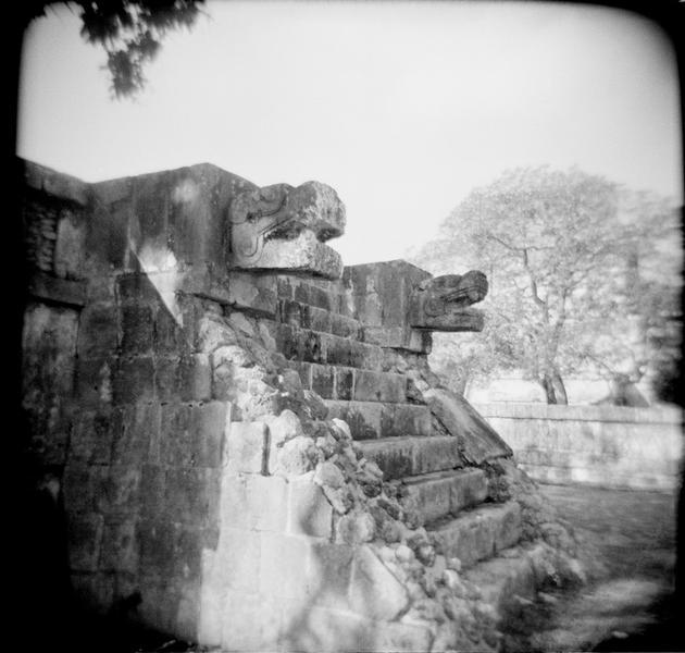Platform of the Jaguars, Chichen Itza, Yucatan