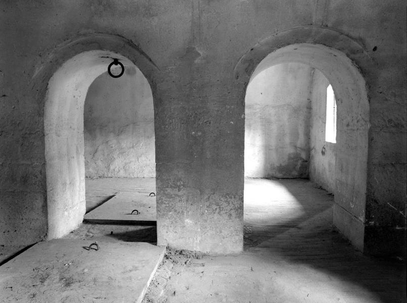 Room with Arches, Terezin Small Fortress, CZ