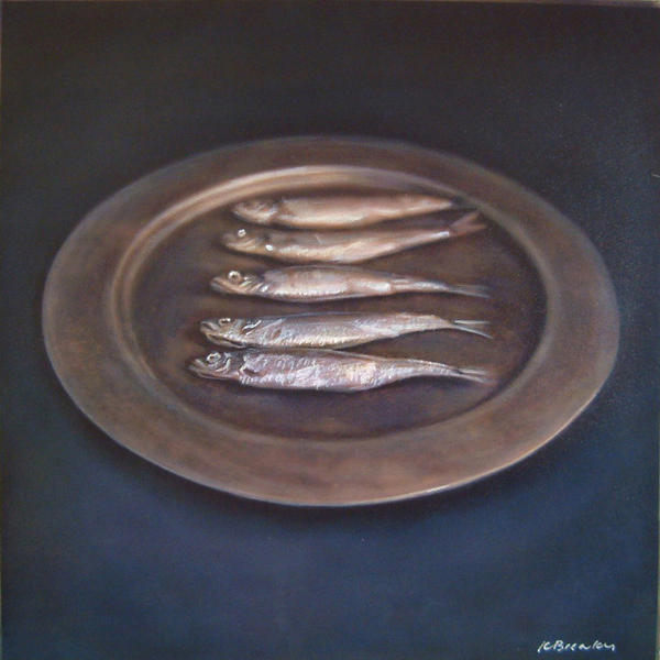 Still Life with Five Fish