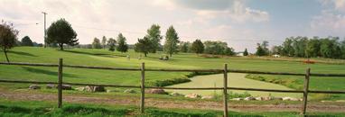 Water hazard, golf course